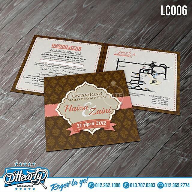 D'hearty Weddingcard