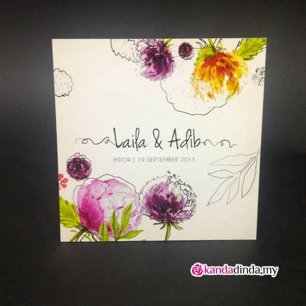 Kanda & Dinda Wedding Cards