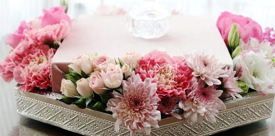 Bunga Telur Jambangan Kasih