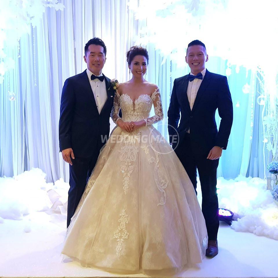 Emcee Adrian Yeoh