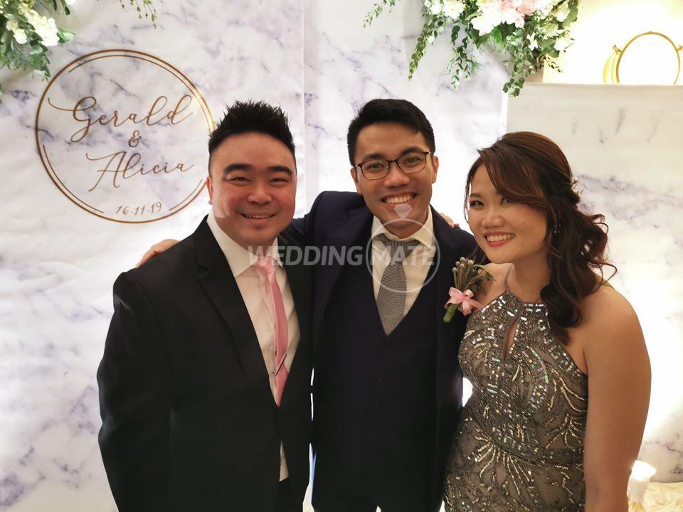 Emcee Joshua Lim