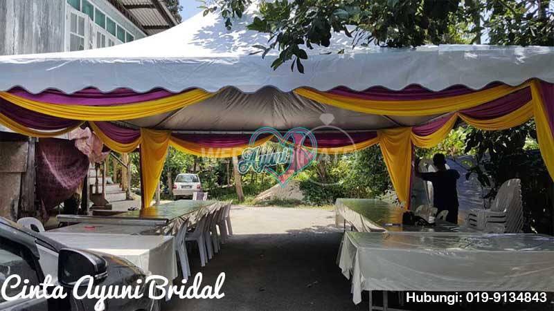 Cinta Ayuni Bridal Canopy