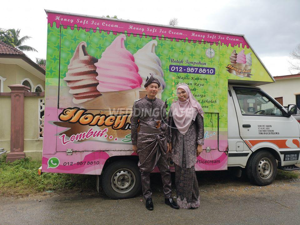 Honey Soft Ice Cream