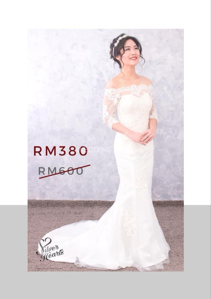 Silver Hearts Bridal