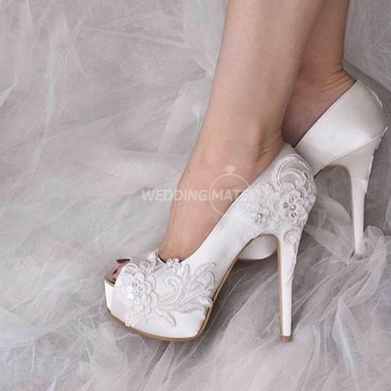 White Label bridal shoes