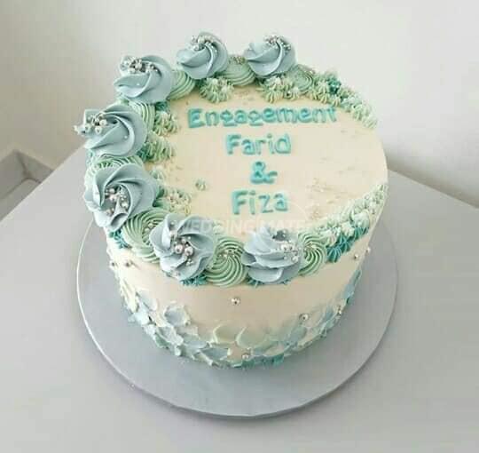 Cake Hantaran & Bertunang Shah Alam