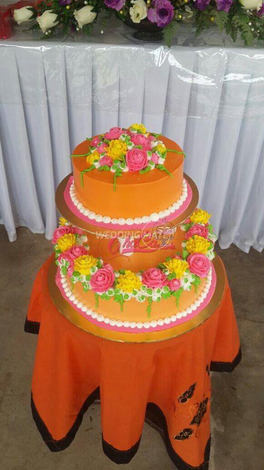 Kek Kahwin Cantik Raub
