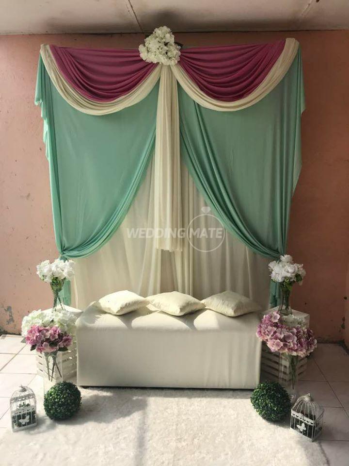 Pelamin DIY murah RM150 Bykawanbridal