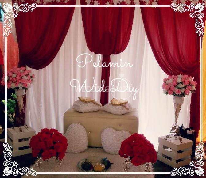 Pelamin Wid Diy - Wedding Rental