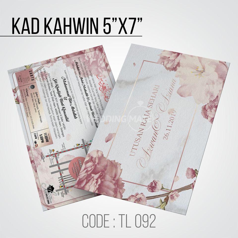 Kad Kahwin Murah Johor bahru/Kulai/Senai