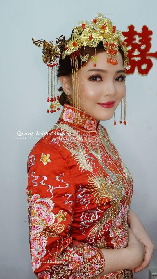 Queens bridal makeup