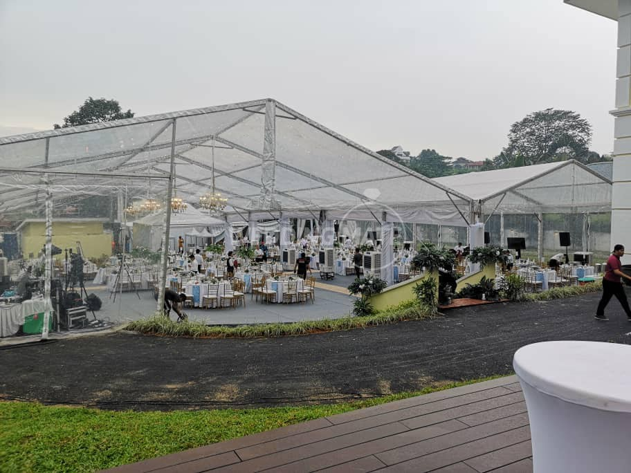 Sani Canopy & Marquee Tent