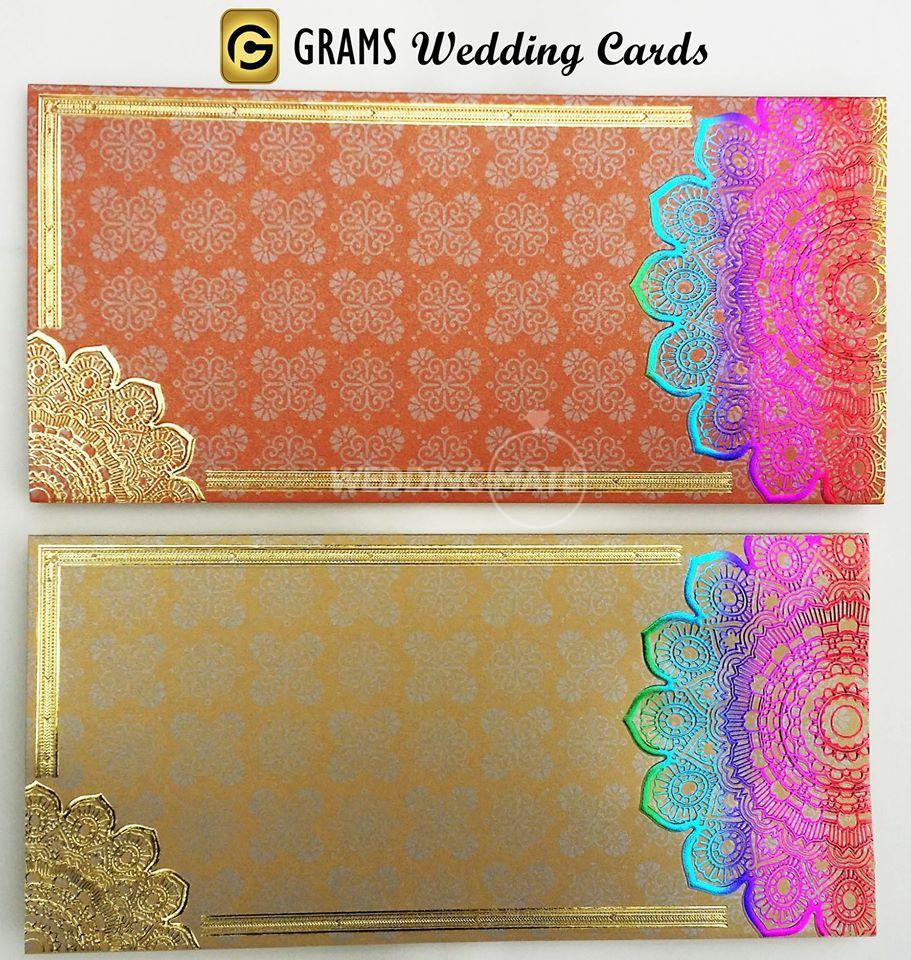 GRAMS Wedding Cards