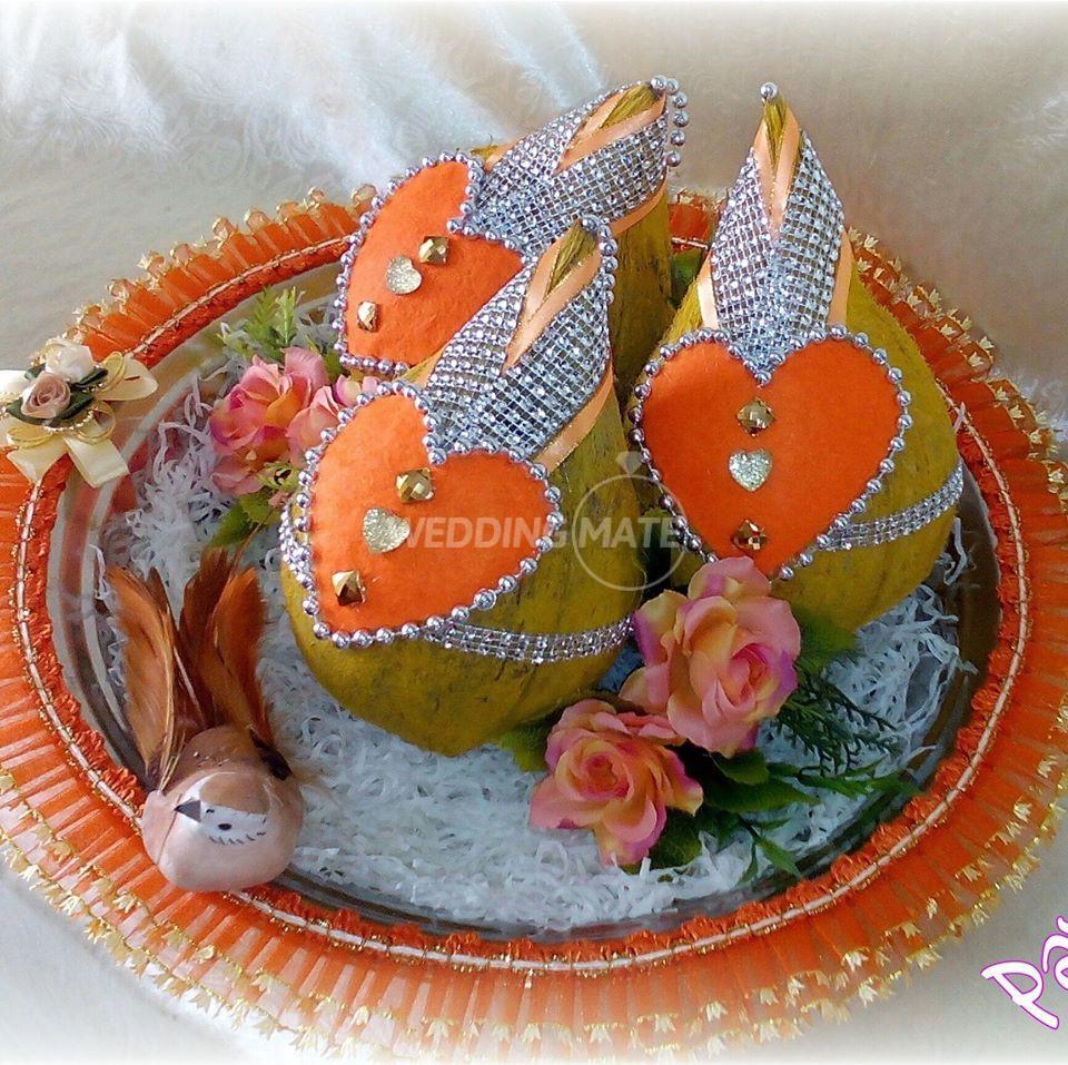 Indian Engagement Tray Decoration