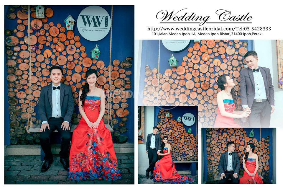 Ipoh Wedding Castle Bridal Gallery