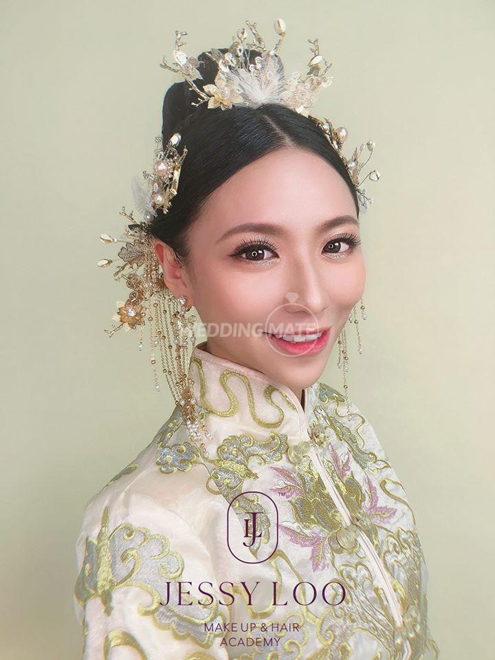 Jessy Loo Bridal Make Up