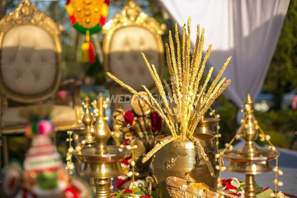K.N.K Menon Malayalee Wedding Decorations