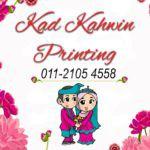 Kad Kahwin Printing Banting
