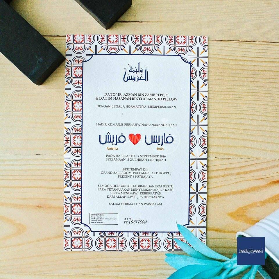 Kad Kahwin by Kadlawo Kepala Batas
