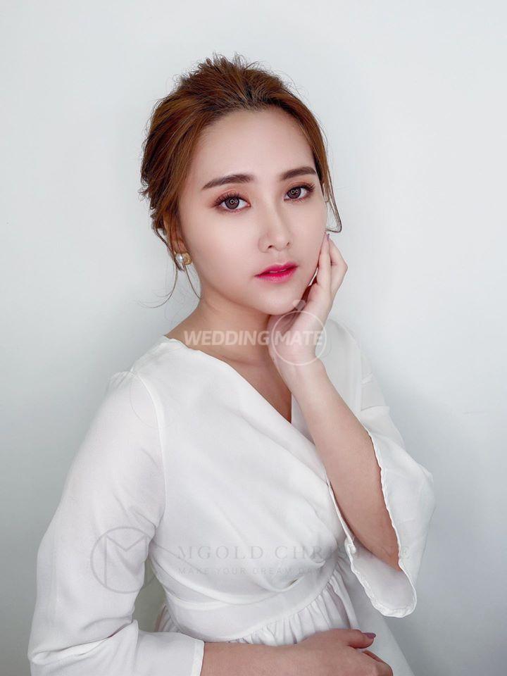 MGOLD professional bridal make up