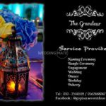 The Grandeur Event Decoration