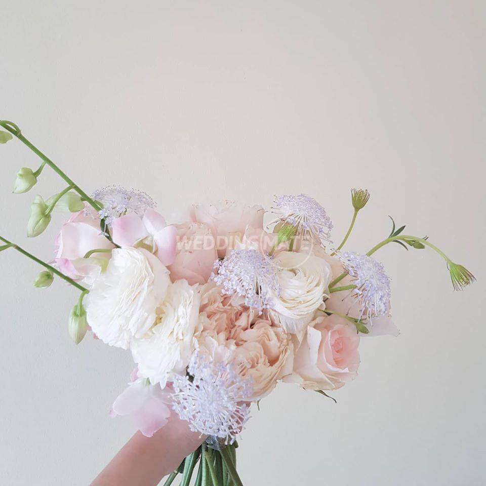 Flowers in Summer Rain
