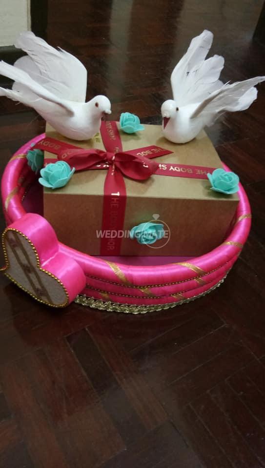 Indian tray decoration & Door gift's