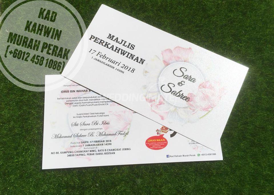 Kad Kahwin Murah & Exclusive JOHOR