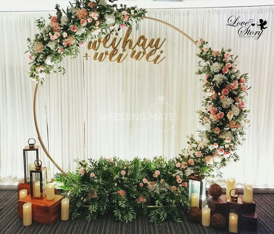 Love Story Wedding Decoration