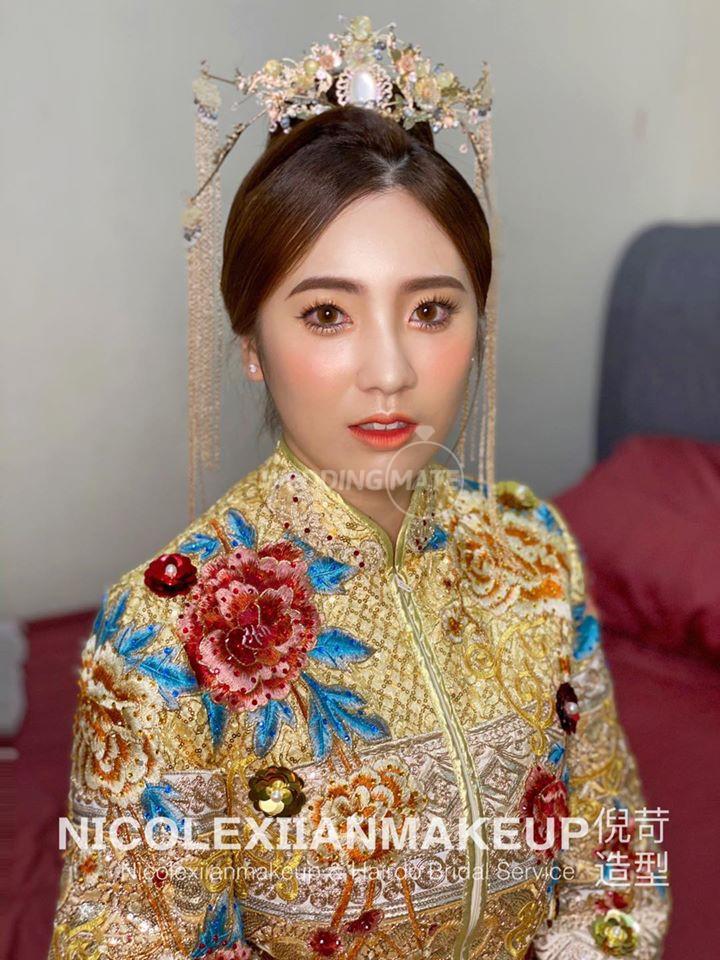Nicolexiianmakeup & hairdo bridal service