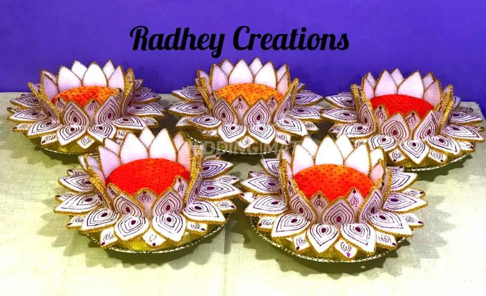 Radhey Creations-Tray Decoration & Gift