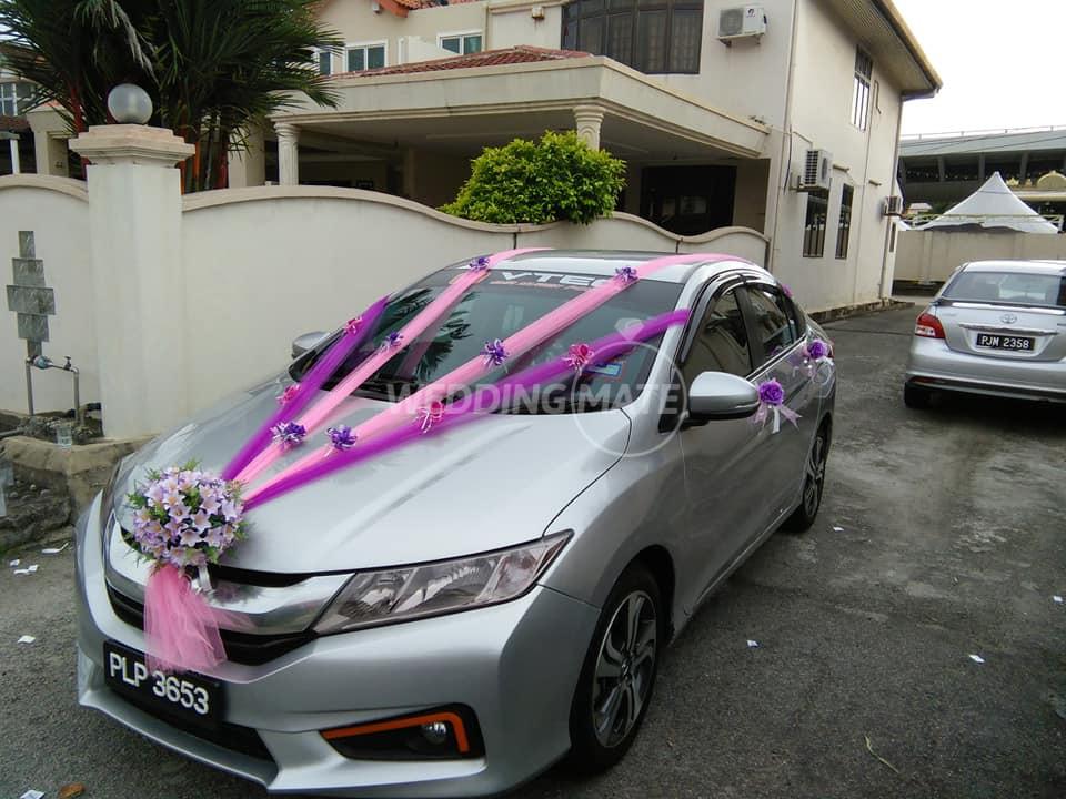 RT2 Wedding Car Decoration