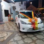 Wedding Car For Rental With Decoration