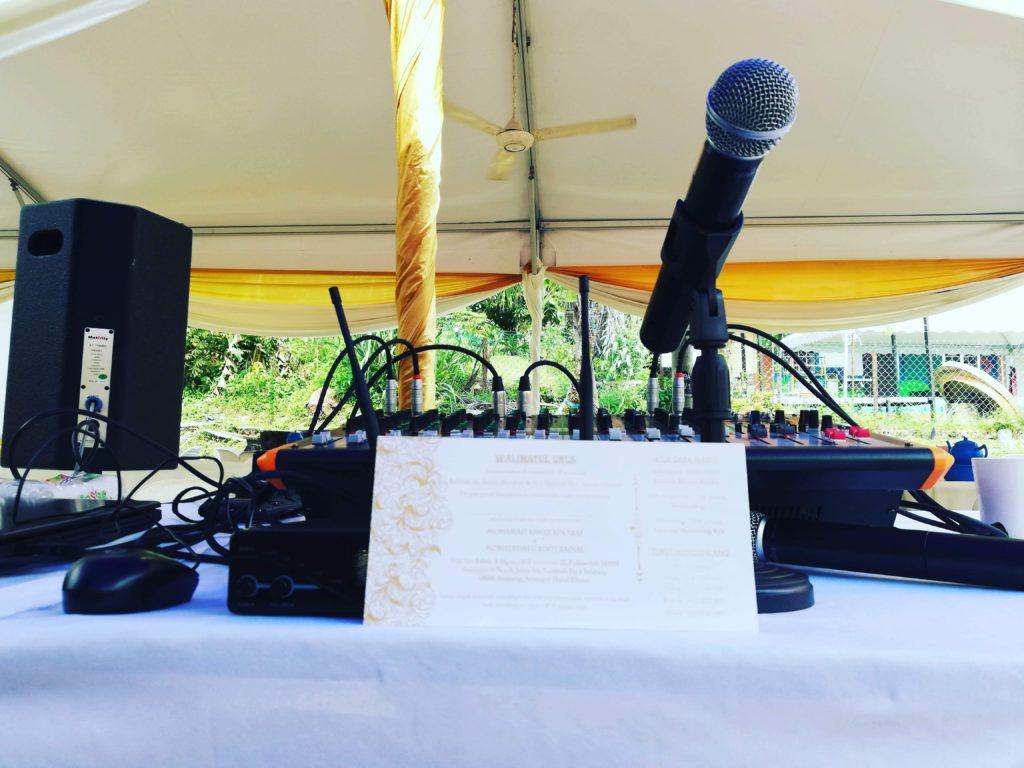 Deejay Kahwin – Karaoke Kahwin – PA System Kahwin – Emcee Kahwin