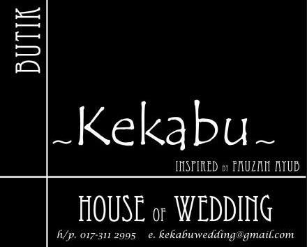 kekabu wedding
