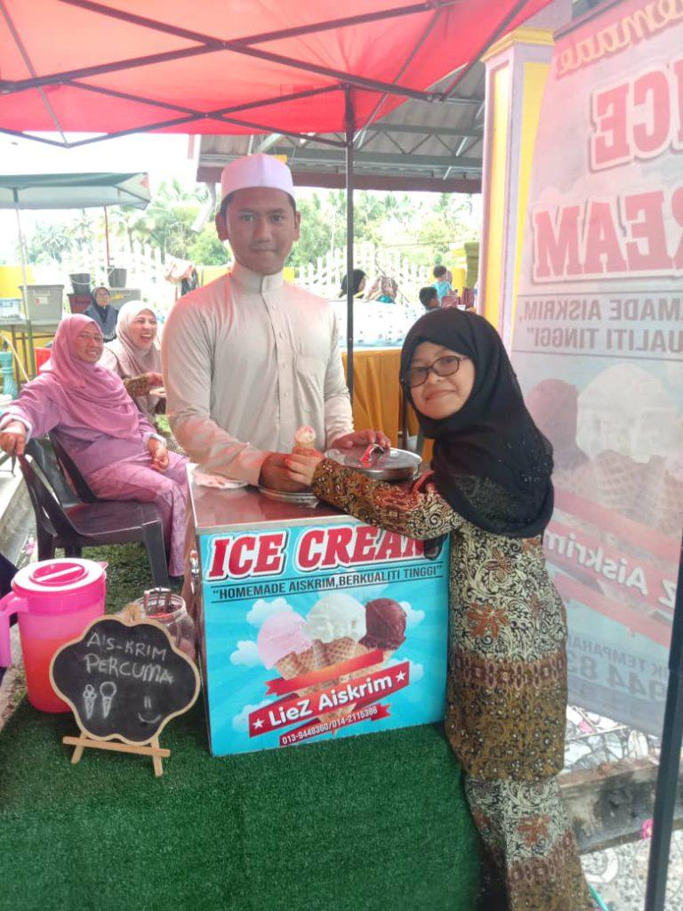 Liez Aiskrim Katering Kelantan